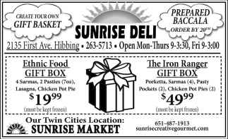 Sunrise Deli