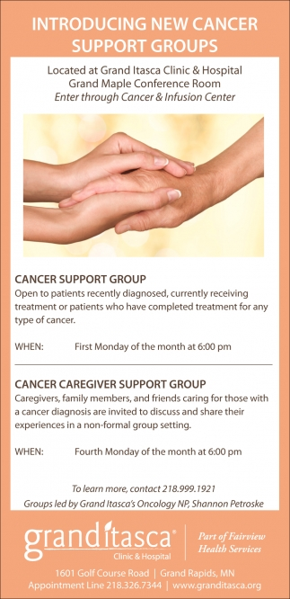 Introducing New Cancer Support Groups