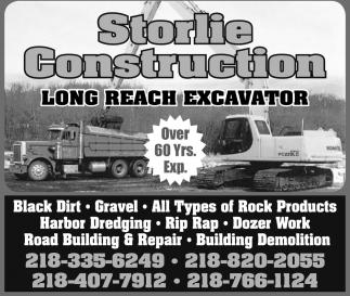 Long Reach Excavator